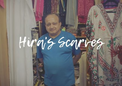Hira's Scarf Kiosk