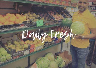 Daily Fresh Fruit and Veg