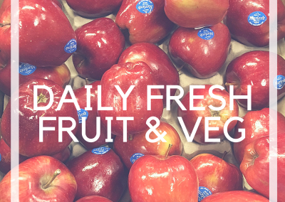 Daily Fresh Fruit and Veg