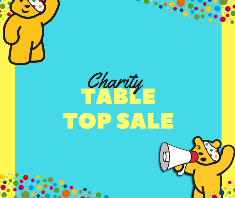 Children In Need Table Top Sale