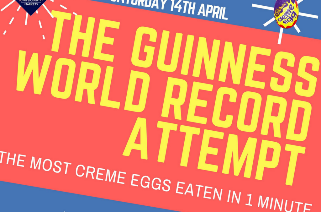 Creme Egg Guinness World Record Attempt