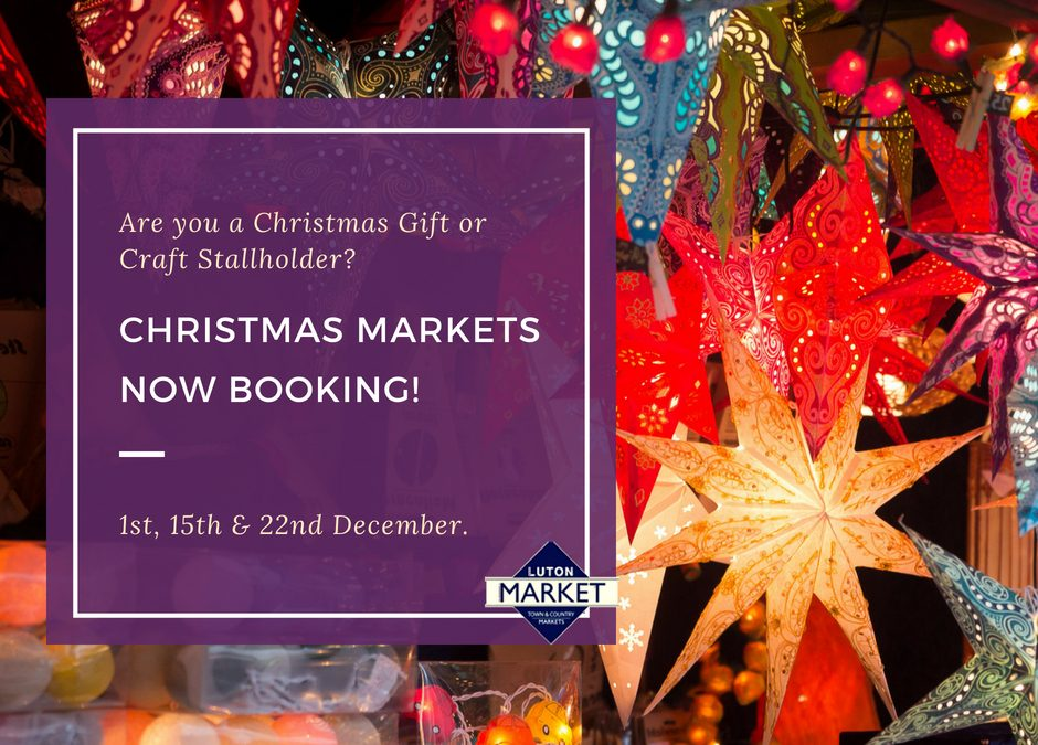 Christmas Markets Now Booking