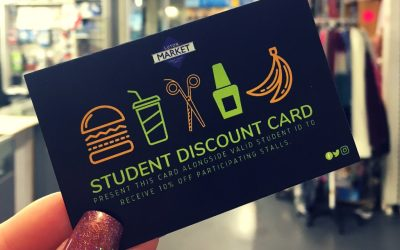 Grab An Exclusive Student Discount Card!