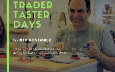 Global Entrepreneurship Week Trader Taster Days